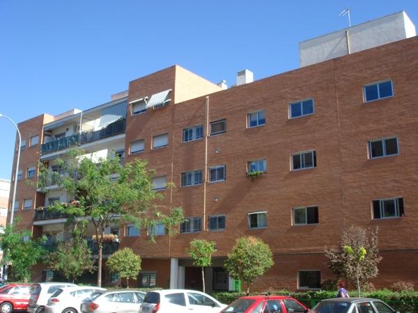 vista exterior de las 109 viviendas en Leganés-Norte