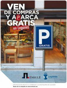 campaña ven de compras y aparca gratis