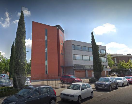 Vista exterior de la oficina liquidadora de Leganés
