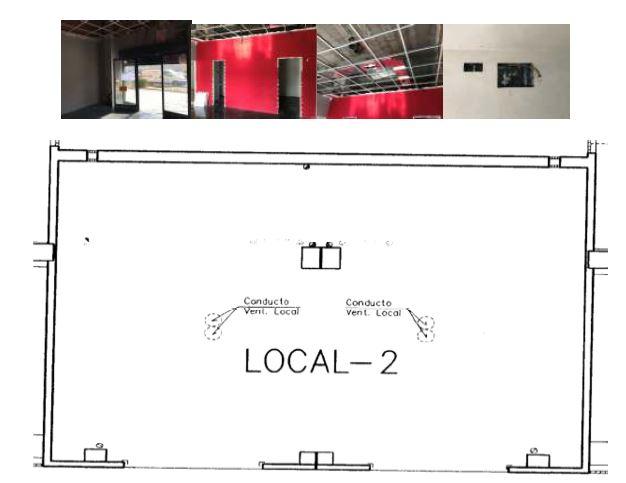 Plano parcela 21 local comercial 2